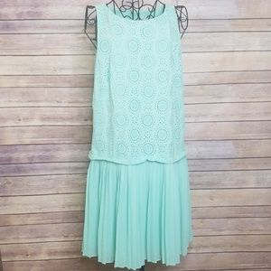 Ann Taylor LOFT 10 pleated dress